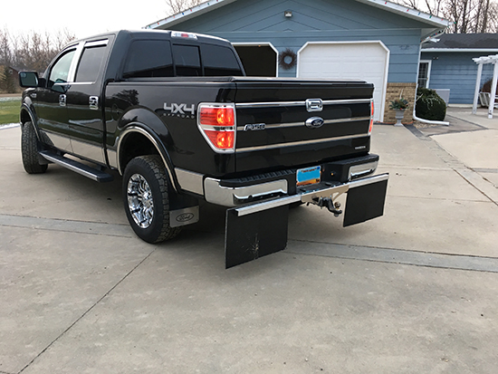 ROCTECTION™ Hitch Mounted Mud Flaps Customer Review
