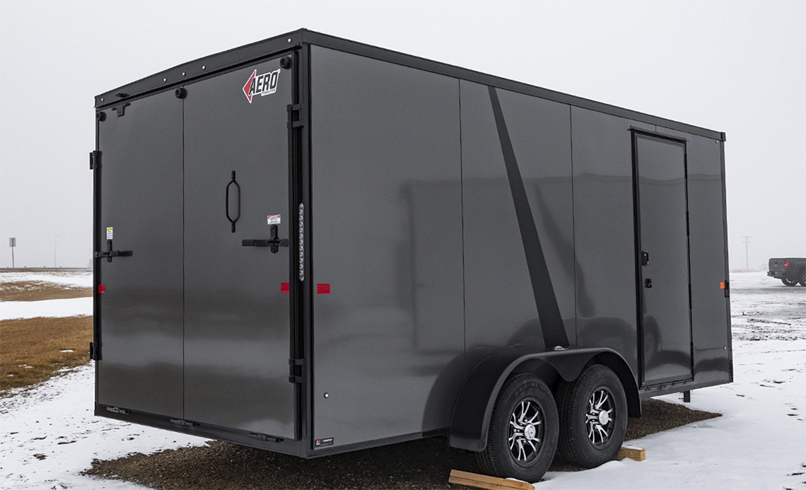 Aero Enclosed Cargo Trailer 5
