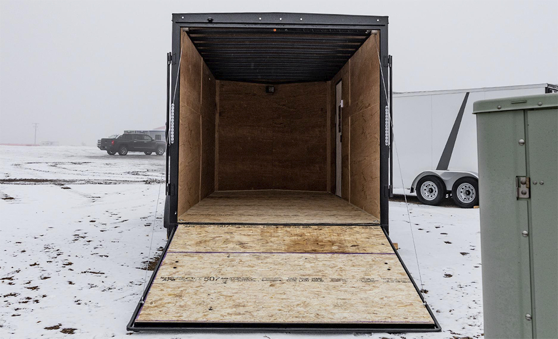 Aero Enclosed Cargo Trailer 6