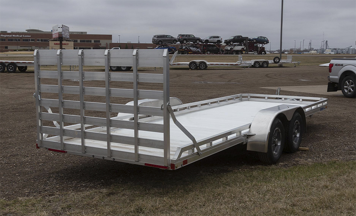 Mission 6.5 x 20 Aluminum Utility Trailers 3
