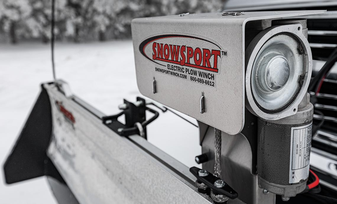 SnowSport Electric Plow Winch 3